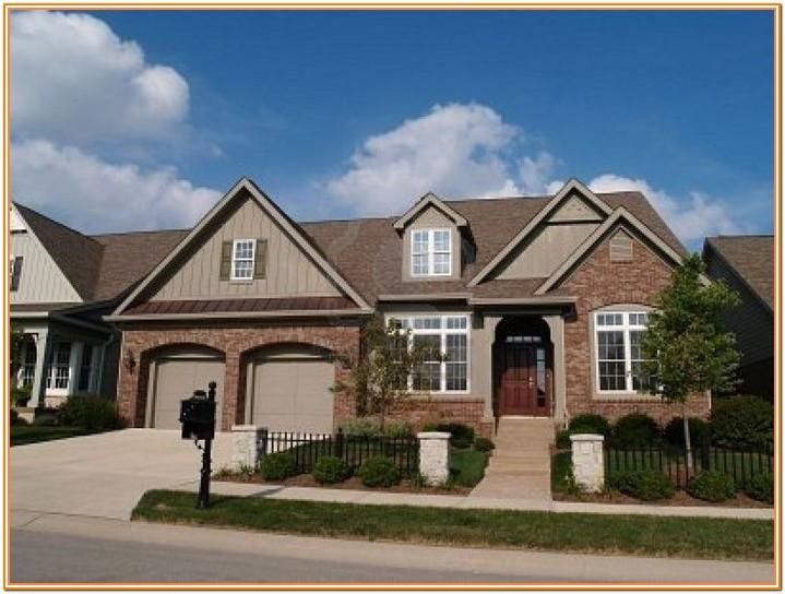 Exterior House Color Combinations With Brick