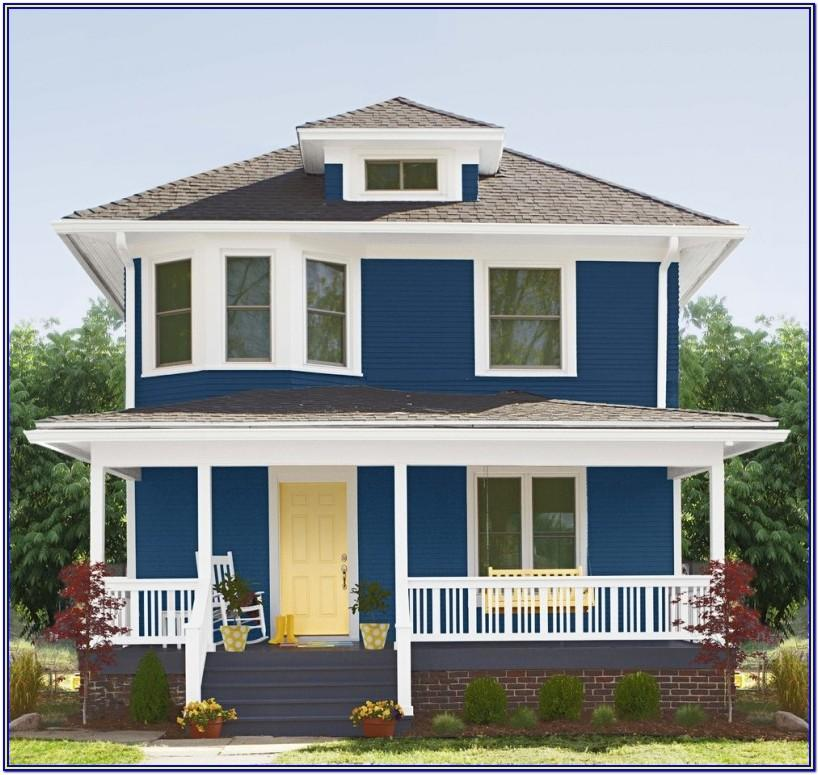 Exterior House Colors Combinations India