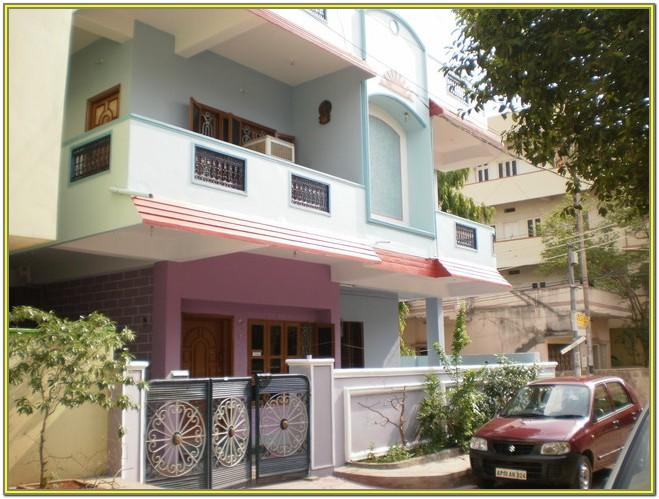 Exterior House Colors Images In India
