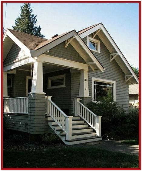 Exterior House Colors With Light Brown Roof