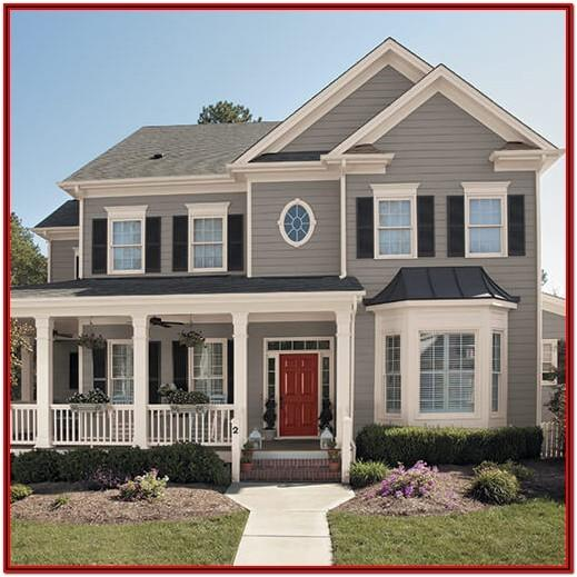 Exterior House Paint Color Palettes