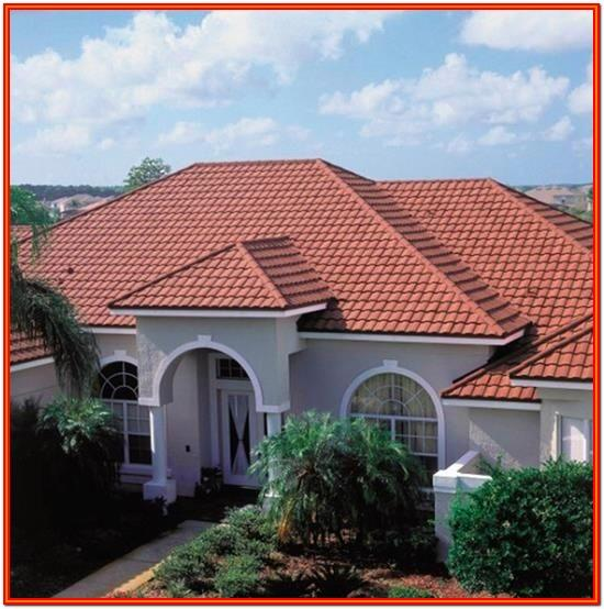 Exterior House Paint Colors With Red Tile Roof
