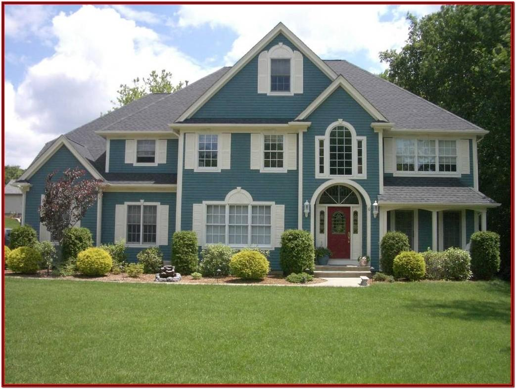 Exterior House Painting Colour Combinations