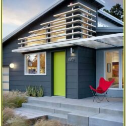 Exterior Paint Color Ideas Mid Century Modern