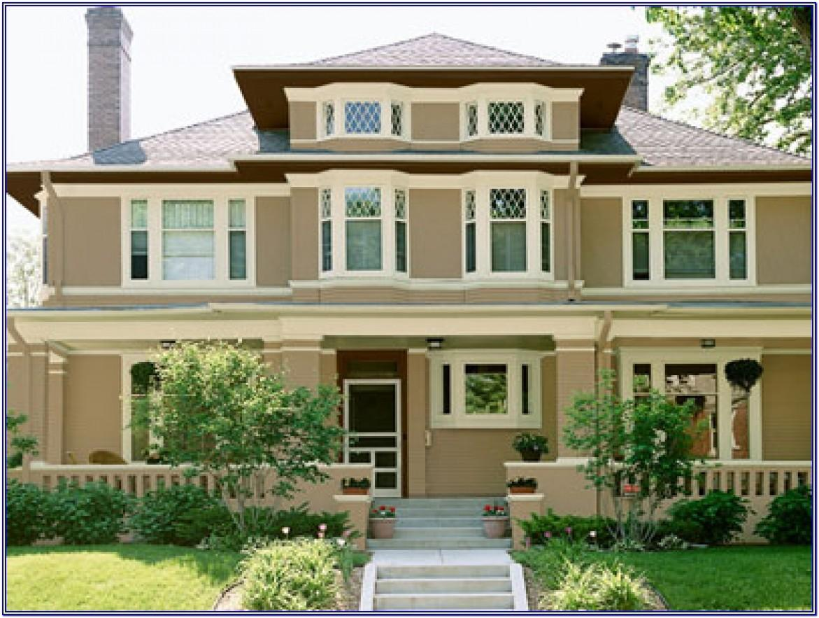 Exterior Paint Colors Combinations For Homes