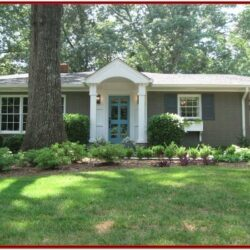 Exterior Paint Colors For Red Brick Ranch Houses