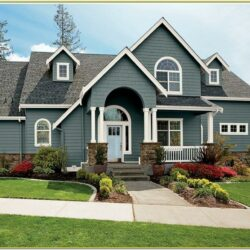 Exterior Paint Colour Schemes Photos 1