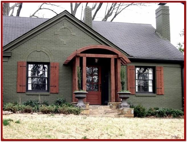Exterior Paint Ideas For Red Brick Homes