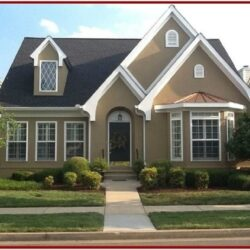 Exterior Paint Schemes For Brick Homes