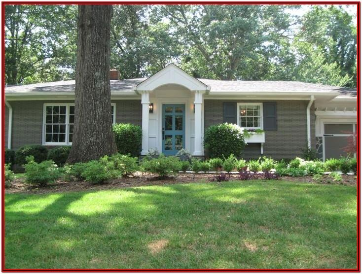 Exterior Paint Schemes For Brick Ranch Homes