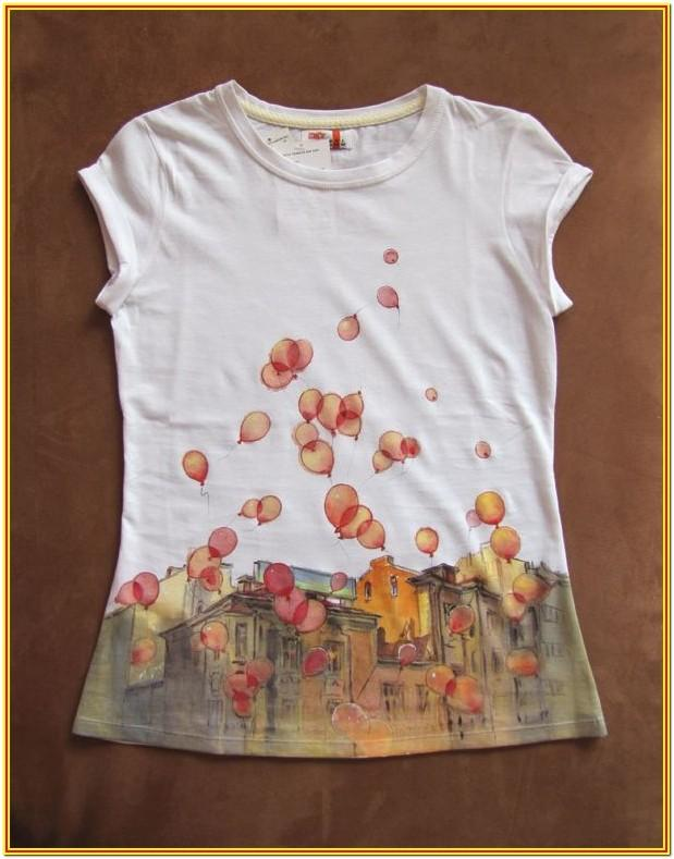 Fabric Painting Ideas For Shirts