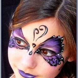 Face Painting Ideas For Butterfly Costume