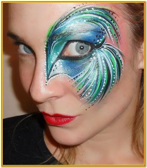 face painting images for adults