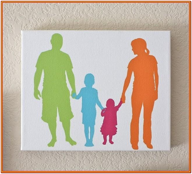 Family Canvas Painting Ideas
