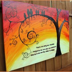 Family Tree Painting Ideas