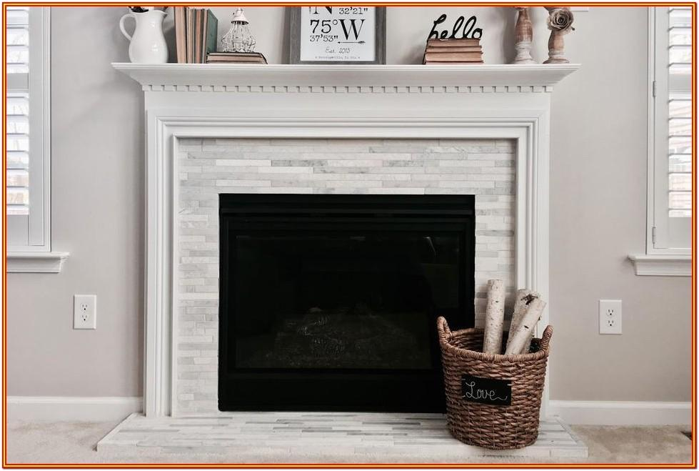 Fireplace Tile Painting Ideas