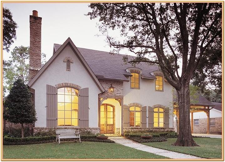 French Country Exterior Brick Colors