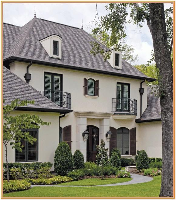 French Country Exterior Color Schemes