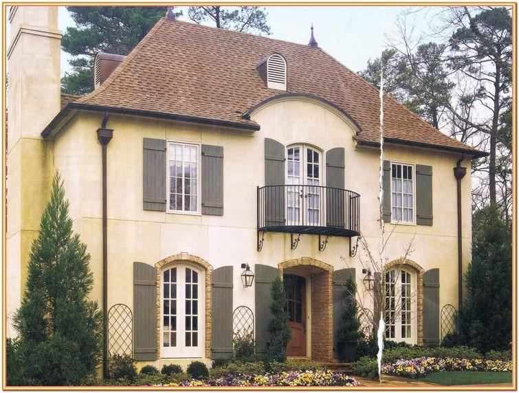 french country exterior colours