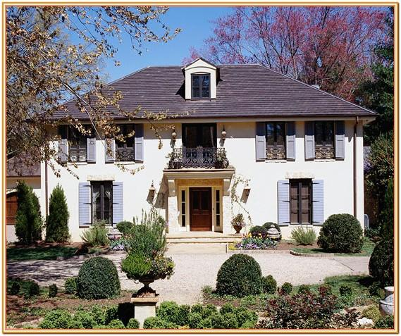 French Country Exterior Stucco Colors