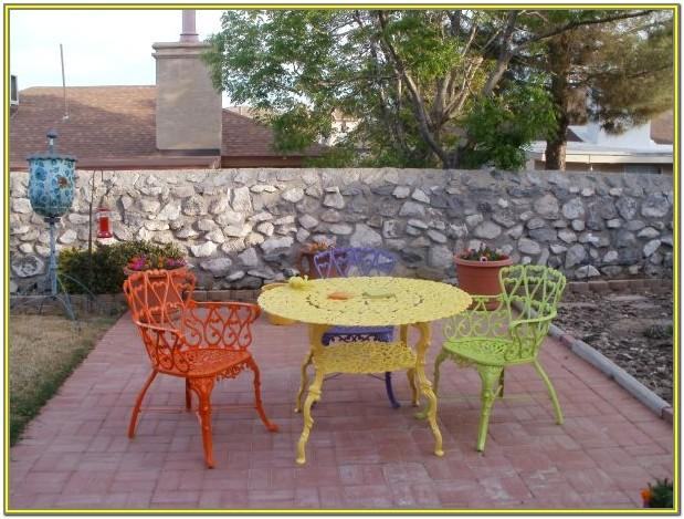 Garden Furniture Paint Colors