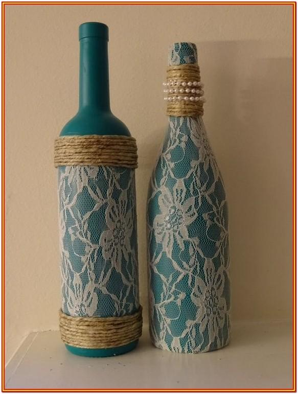 glass bottle painting ideas