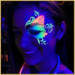 Glow In The Dark Body Paint Ideas