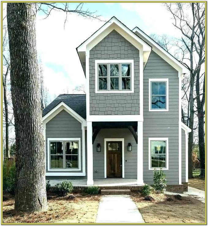 Gray Green Exterior House Paint Colors