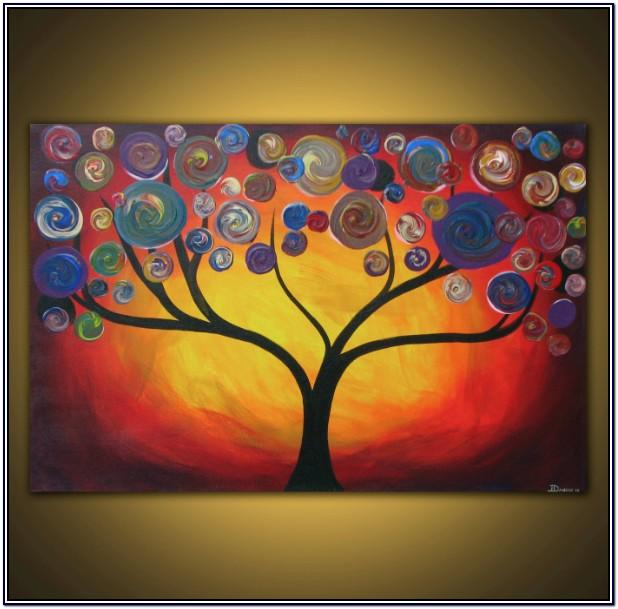 Group Canvas Painting Ideas