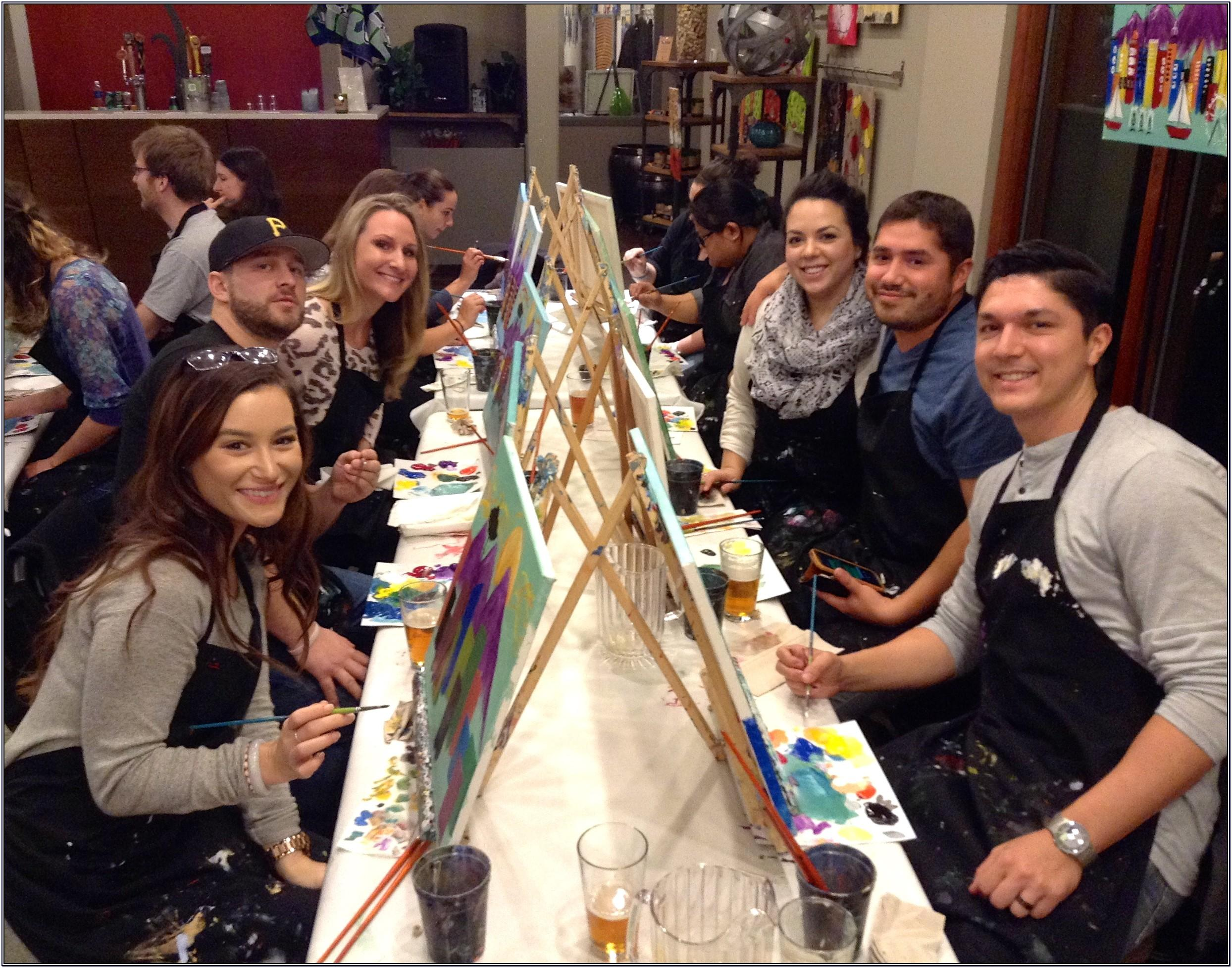 Group Painting Party Ideas