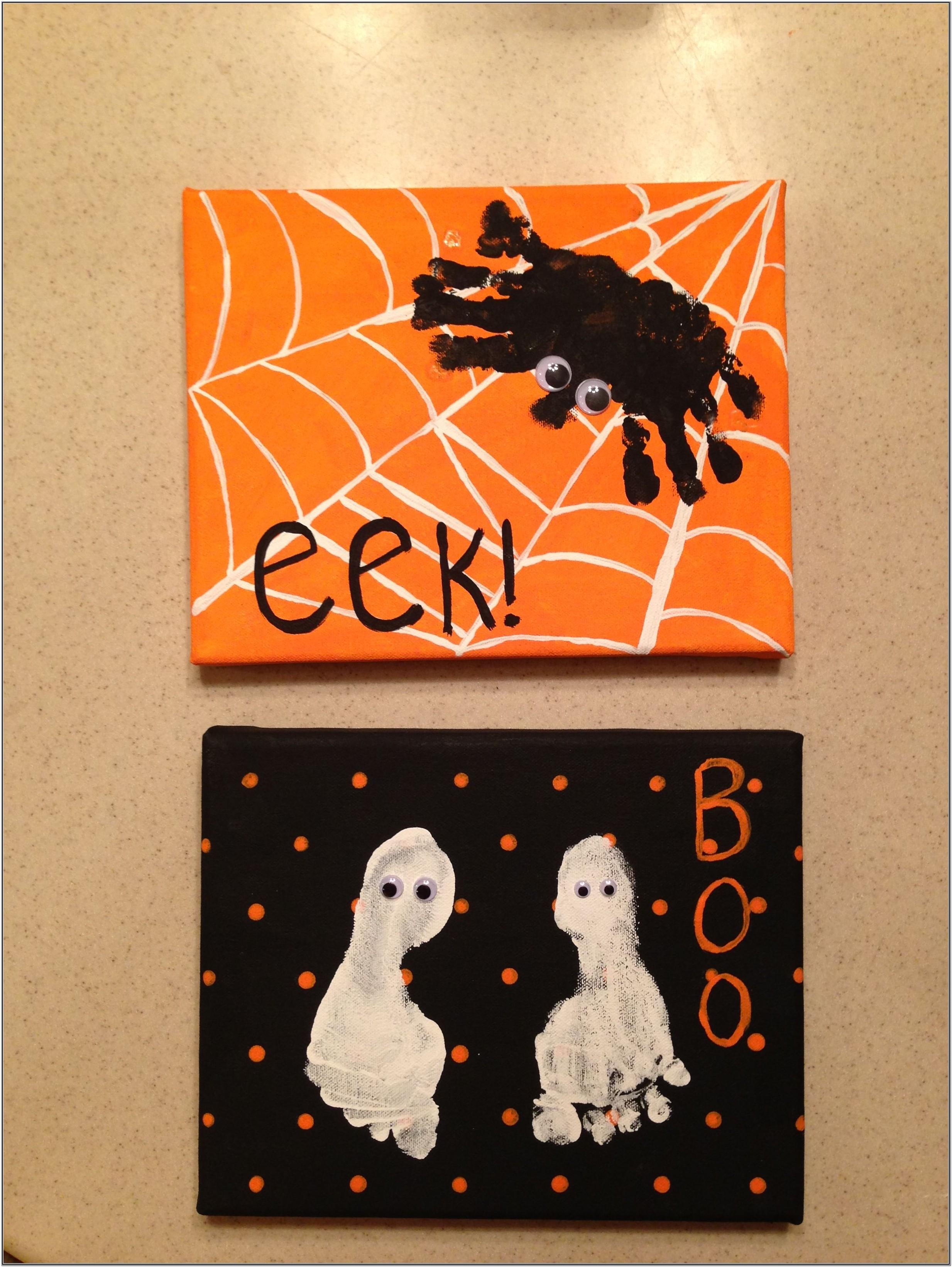 Halloween Painting Ideas For Babies