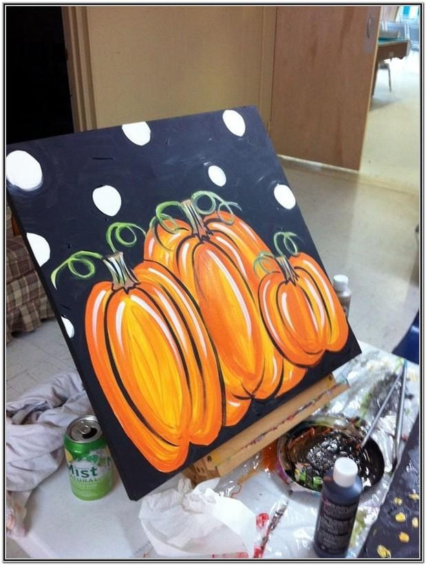 halloween painting ideas for beginners