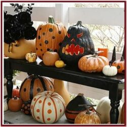 Halloween Pumpkin Painting Ideas Pinterest