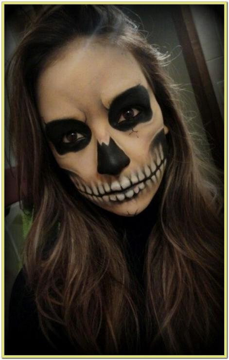 halloween scary face paint ideas for adults