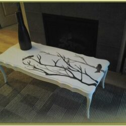 Hand Painted Coffee Table Ideas