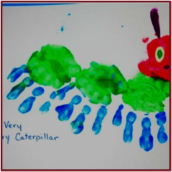 Hand Painting Ideas For Preschoolers
