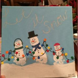 Hand Painting Ideas For Toddlers Christmas
