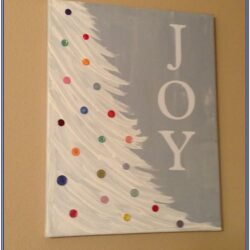 Holiday Canvas Painting Ideas