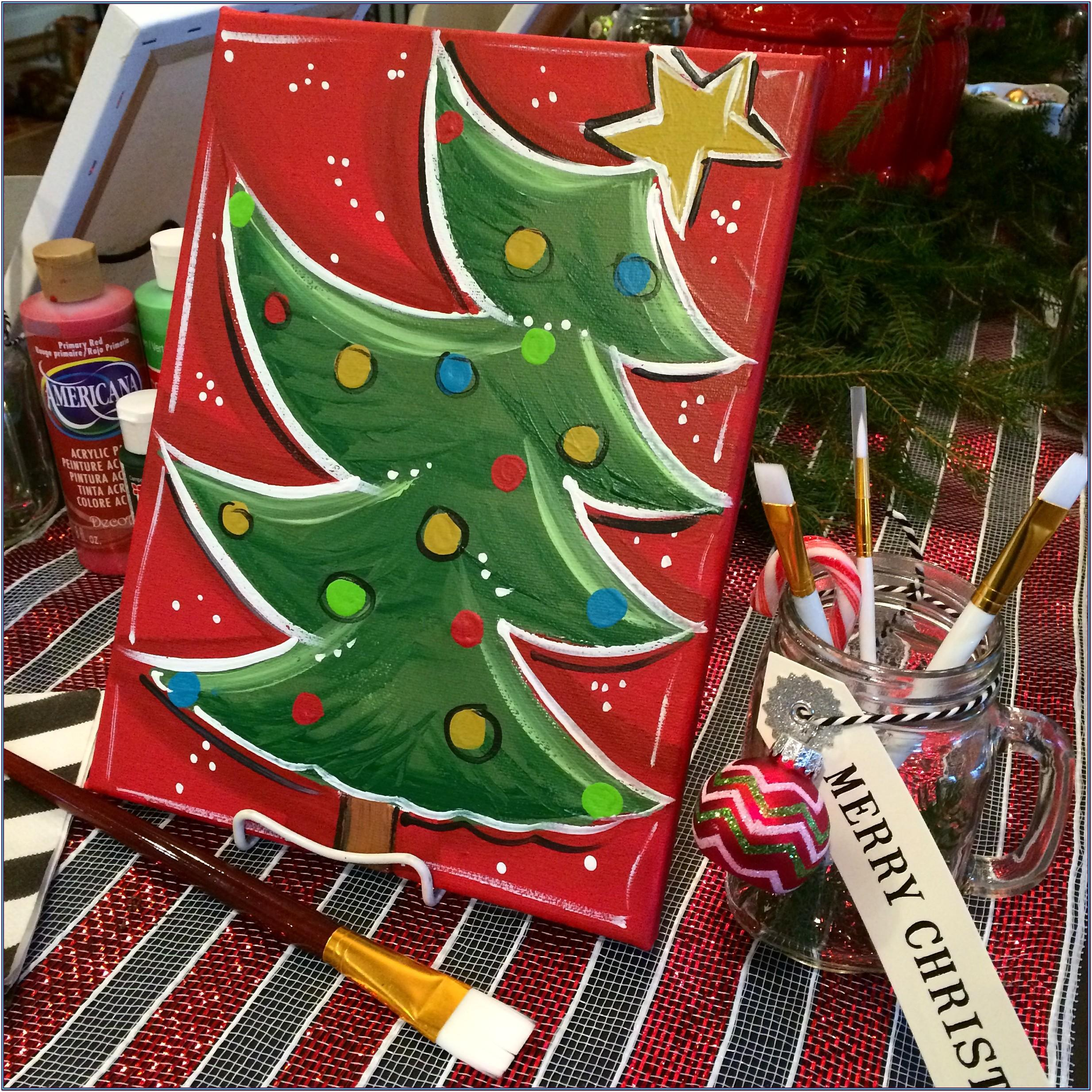 Holiday Painting Party Ideas