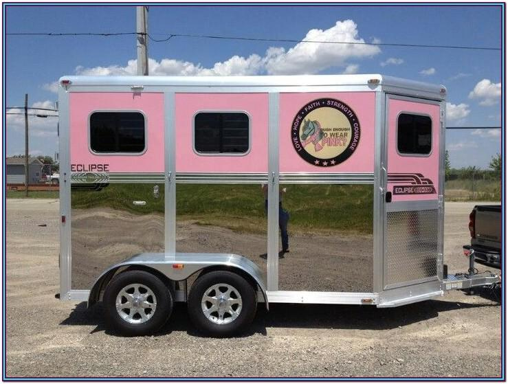 Horse Trailer Painting Ideas