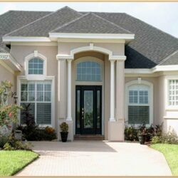 House Exterior Paint Color Combinations India 1