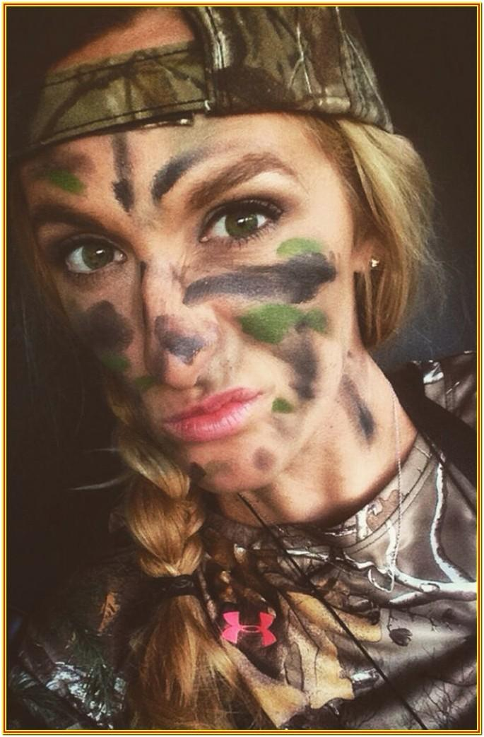 Hunting Camo Face Paint Ideas