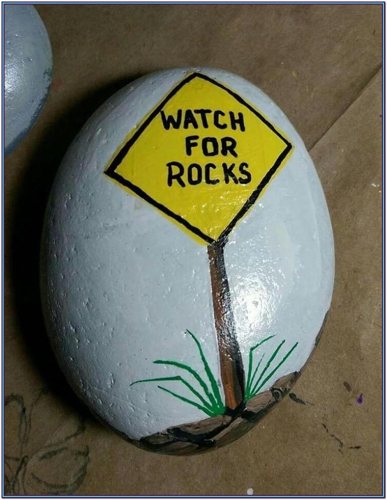 Ideas Of Things To Paint On Rocks