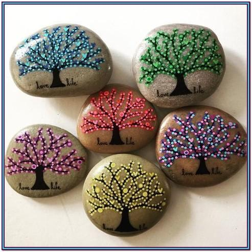 Ideas Of What To Paint On Rocks