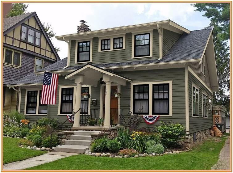 Images Of Exterior House Colours
