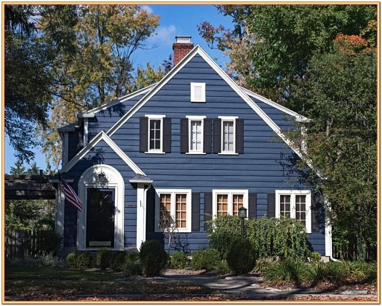 images of wooden house exterior colors