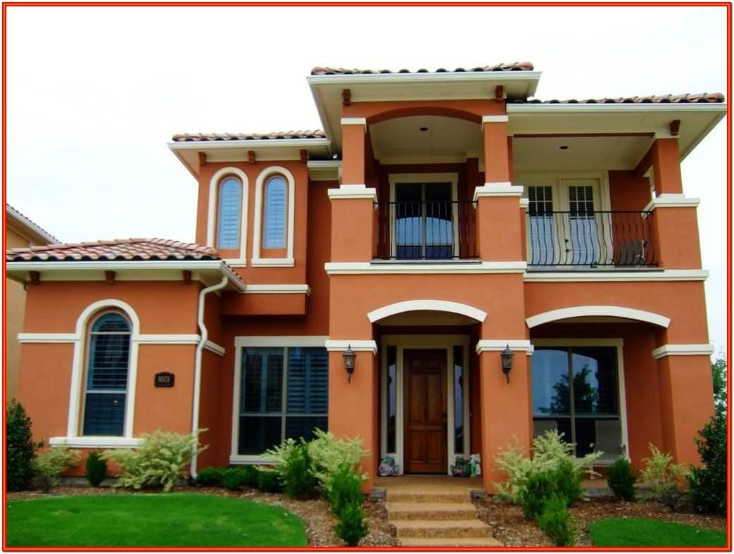 Indian Exterior Paint Color Combinations Images