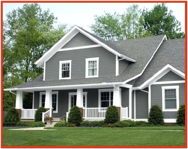 Indian Home Exterior Color Combinations
