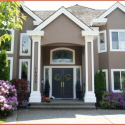 Indian Home Exterior Paint Color Combinations 1