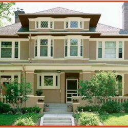 Indian House Exterior Color Schemes